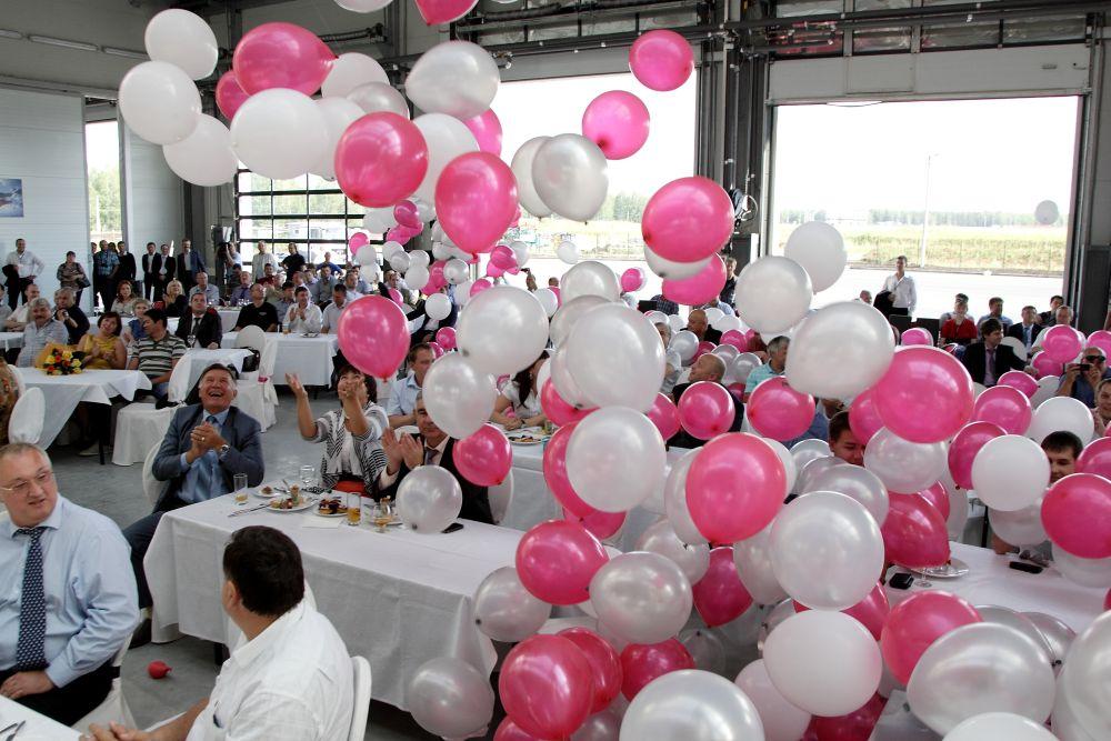 Сброс воздушных шаров